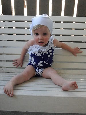 sewn: Vintage Inspired Swimsuit & Cap