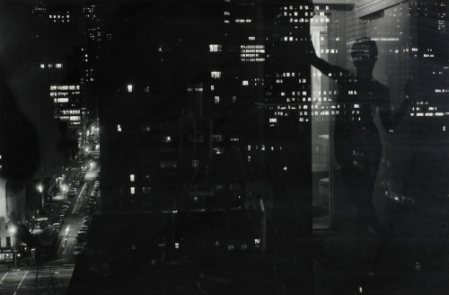melisaki:  Night in NY photo by Lucien Clergue, Nus de la Ville series; 1977
