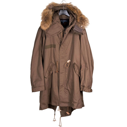 United Bamboo Fishtail Parka