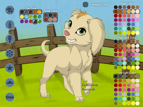 Puppy Maker by *Kamirah (Click to play!)