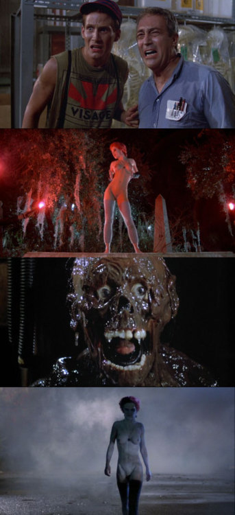 The Return of the Living Dead, 1985 (dir. Dan O'Bannon) By Old Horror Movies