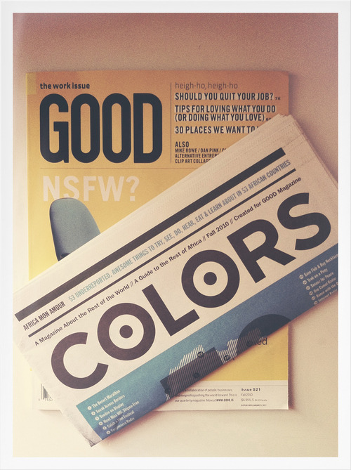I've Got Mail: I love the art direction going on over at Good Magazine.