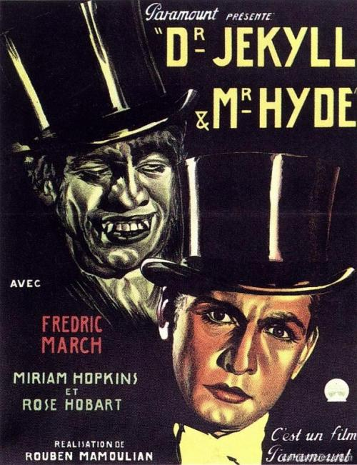Dr. Jekyll and Mr. Hyde - (1931) French poster