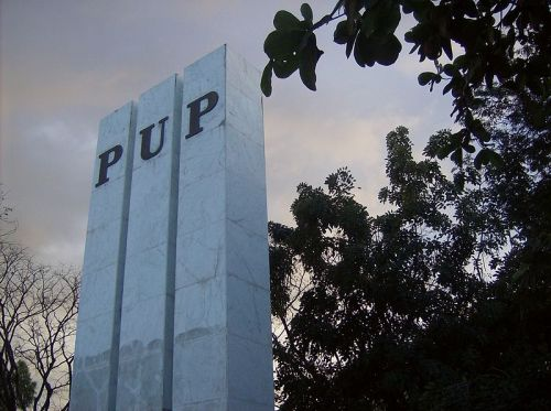 kontrobersyal:  POLYTECHNIC UNIVERSITY OF THE PHILIPPINES The Polytechnic University of the Philippines (Filipino: Politeknikong Unibersidad ng Pilipinas) commonly known as PUP is a research state university in the Philippines. It was founded in October 19, 1904 as the Manila Business School, offering commerce-related courses. The university offers graduate and undergraduate degrees in accountancy, engineering, political science, social science, business, arts, agriculture, media and communication and associate programs. The Polytechnic University of the Philippines System is among the state universities in the Philippines with the lowest tuition. -Wiki 19 CAMPUSES. P12 per unit pa rin! Do you have interesting finds about our school? I-click ang larawan sa ibaba:  The site administrators and content editors have the right to reject and edit your submissions at any given time according to their discretion.EDUKASYON HINDI GERA, LIBRO HINDI BALA.  PUPian ka? Wag mong titigan. Ireblog mo! Tingnan natin kung ilan tayo dito. Let's have a daily dose of awesomeness na pwede tayo makarelate.