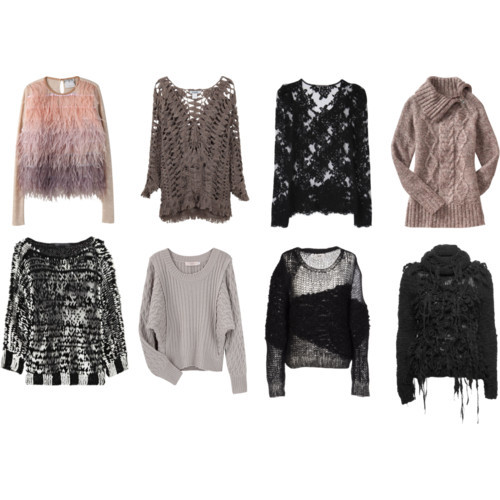 UGH. SWEATERS! These are all so looovely. Kind of obsessing over them. <3