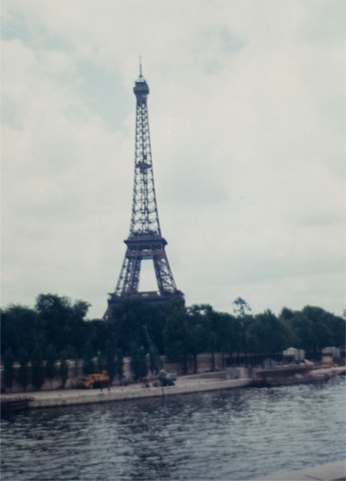 Eiffel Tower — July, 1967