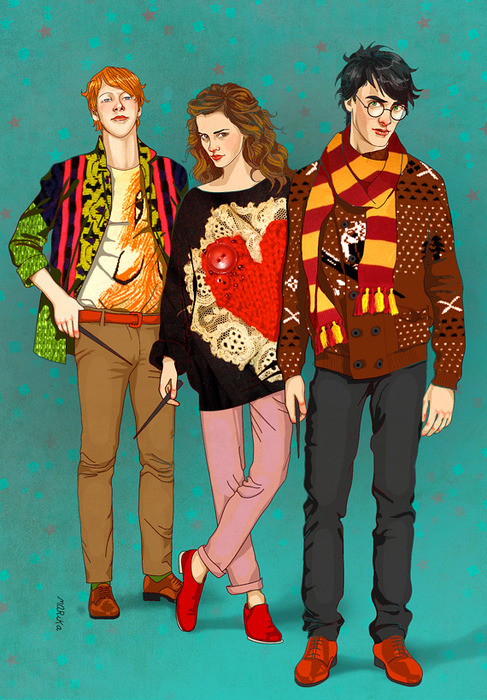 fuckyeahillustration:    Hipster Potter and the Philosophers Stoned Hipster Potter and the Chamber of Underground Music Hipster Potter and the Prisoner of Upper-Middle Class White America Hipster Potter and the Goblet of PBR Hipster Potter and the Order of the Flannel Hipster Potter and the Half-Snorted Line Hipster Potter and the You've Probably Never Heard of It