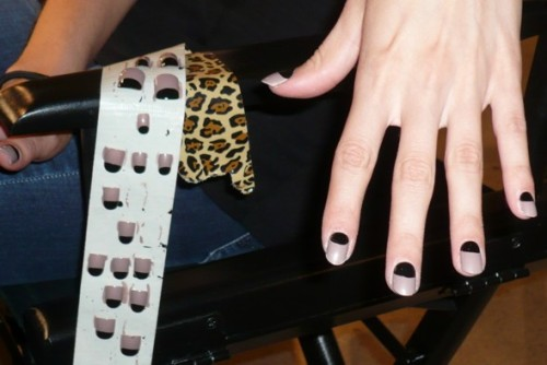 Nails at Vena Cava Spring 2011. Photo by Grace Gold for Stylelist.