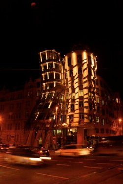 The Dancing House Prague, Czech Republic