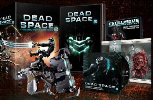 Dead Space 2 Collector's Edition - I RT'd this information earlier but I figured I'd post it in blog form as well. The Dead Space 2 Collector's Edition details have been posted. Here's what it comes with: Dead Space 2 game Plasma cutter replica with trigger activated LED lights Downloadable Unitology Suit and Force Gun, offering unique advantages in the game Dead Space 2 Original Soundtrack Concept Art lithograph You can view more photos over on the Dead Space facebook page here. The listings and price are coming soon. If you pre-order the CE, you will also receive Dead Space Ignition for free via a code from the retailer. For PS3 specifically, you will receive the additional HD Dead Space Extraction free when you pre-order as well. If you want to just give Dead Space Ignition a shot without pre-ordering anything, it was released today on the PSN for $5 and on Xbox Live for 400 points.