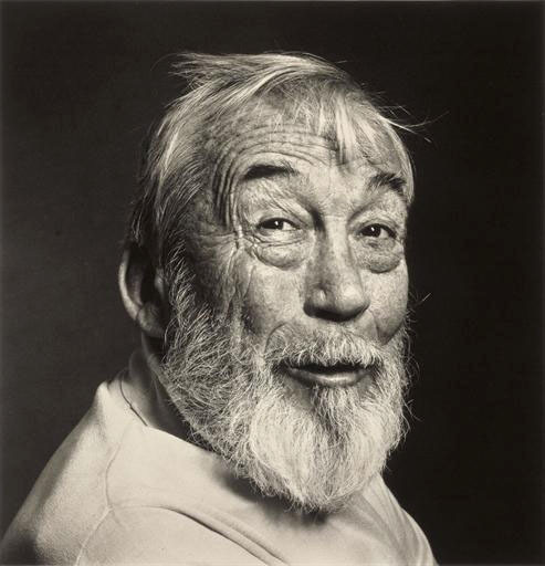John Huston, New York, Feb. 7, 1980 -by Irving Penn via MA