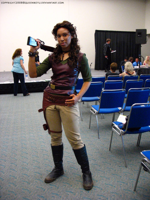 chaosbria:  buckybird:  spandexandsportsbras:  Great Zoe cosplay  DUDE…  Holy crap she is PERFECT.