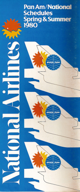 westjet757:  when Pan Am bought National Airlines in 1980