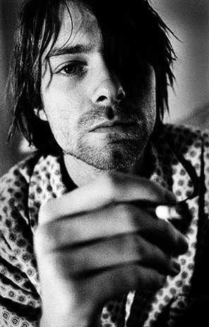 coffee—cigarettes:  Kurt Cobain