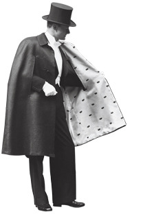 How to Choose an Opera Cape 1. The exterior should be wool or velvet, in black or brown. 2. The key to a lovely cape is a silk lining. This is where you express yourself. Get a bold color or pattern, brocade, or even fur trim. 3. Complement your cape with white gloves and a black cane. 4. Only wear to events that occur after 7:00 P.M.