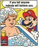 I'll never think of Mario the same way again.