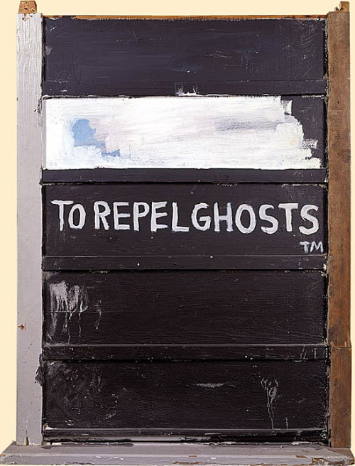 Jean-Michel Basquiat, To Repel Ghosts™  (1986)  (nvvr:a-h)