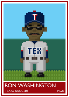 #23. Ron Washington.