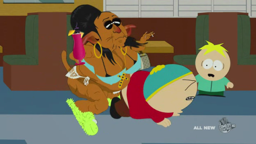 Snooki and Cartman and Butters.