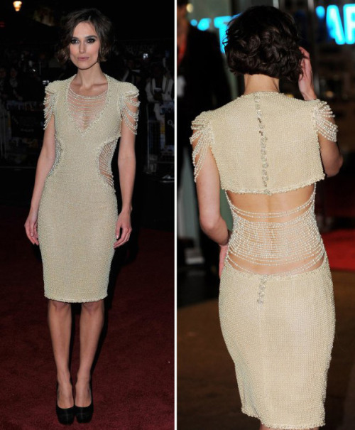 The Chanel Dress Keira Knightley wore to her latest movie premiere is just perfection. The beading details are just gorgeous. Source: www.huffingtonpost.com