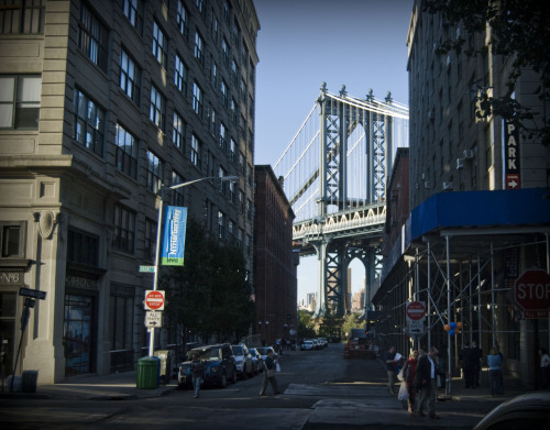 Manhattan Bridge, from Dumbo - 10/14