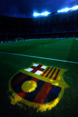 thebeautifulgameblog:  FC Barcelona's Camp Nou pictured during training. Credit: Ryu Voelkel  sex