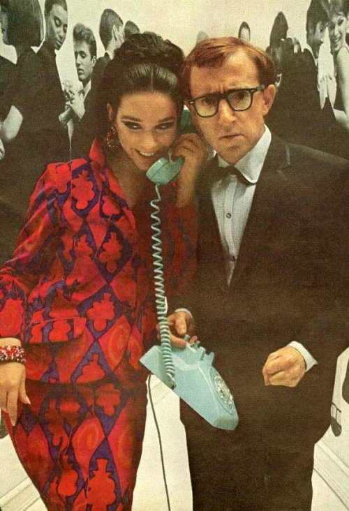 fuckyeah60sfashion:  Woody Allen. December, 1965.