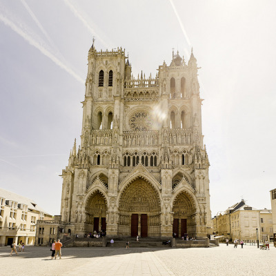 dirtyprettything:  Cathedral of Our Lady of Amiens (by mahony Web)