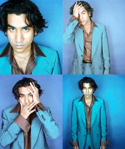 My name is Naveen Andrews, and I am a torturer…in the bedroom.