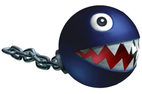 Hey guys it's National Chain Chomp Coming Out Day  -David Cairns while playing Mario Kart 64 at Ashley Bennett's place.