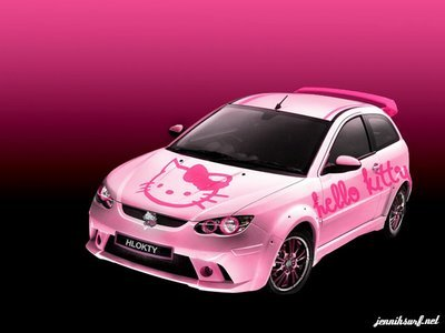Hello Kitty Car Voiture Hello Kitty