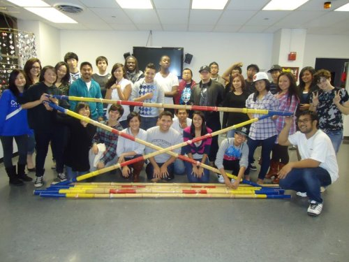 Tinikling Workshop with ASO from Columbia College Chicago and KAPWA from Loyola University Chicago! Not here? Don't miss our next event! Follow us! Facebook & Twitter!