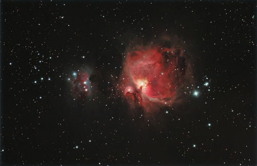 fuckyeahnebulas:  uraniaproject:  M42 (by turner_andi)  Orion Nebula