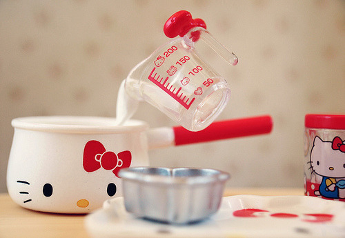 Hello Kitty Re-Ment Kitchen Miniatures