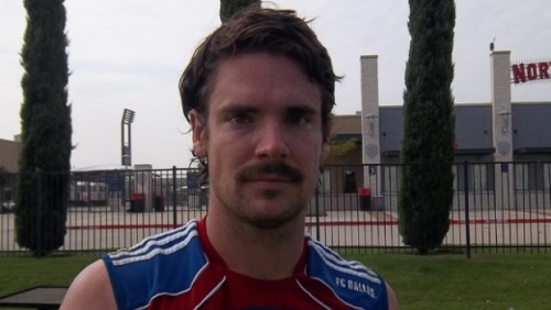 Great mustaches in professional sports, part I   (Heath Pearce, FC Dallas, USA)