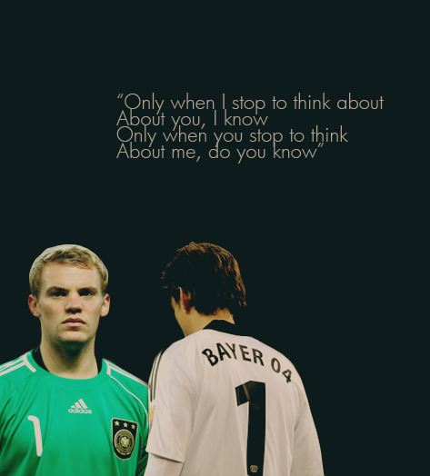 reneadler:  Football crackship: Manuel Neuer x Rene Adler How many of you thought I was lying? You were wrong.  Are you kidding me? They're my faveship!!!