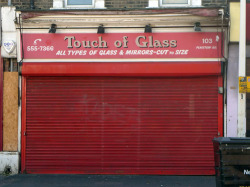 Touch of Glass, Plaistow Road E15