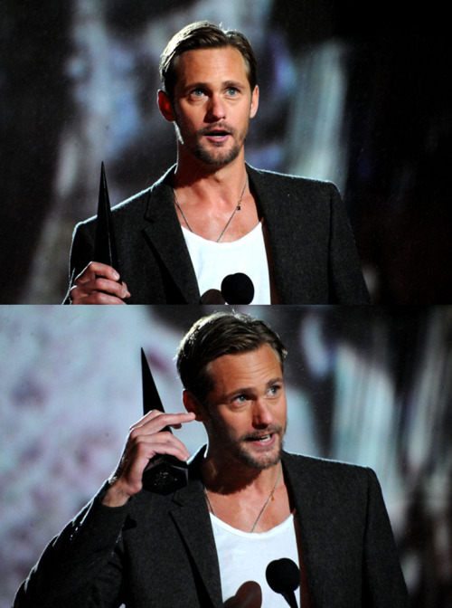 santress:  Close-ups of Alexander Skarsgard — 2010 Scream Awards (October 16th) (Source:  WireImage)