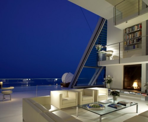 homedesigning:  Beautiful Cliffside Villa | Interior Designs And Home Ideas