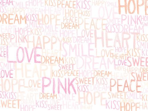 Victoria's Secret 'Text' wallpaper XOX