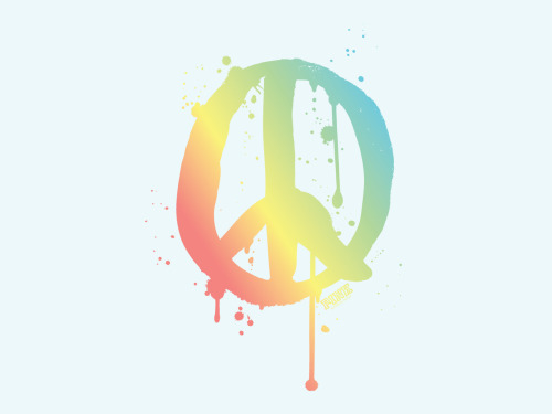 Victoria's Secret 'Peace!' wallpaper XOX