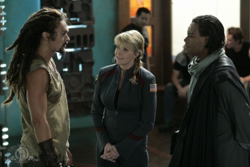 I remember when I first saw Ronon & Teal'c on SGA….that was awesome.