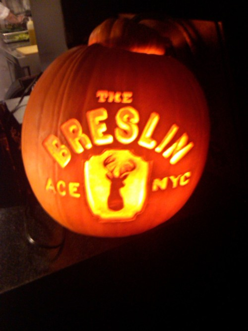 Boo.   The Breslin, Ace Hotel New York.