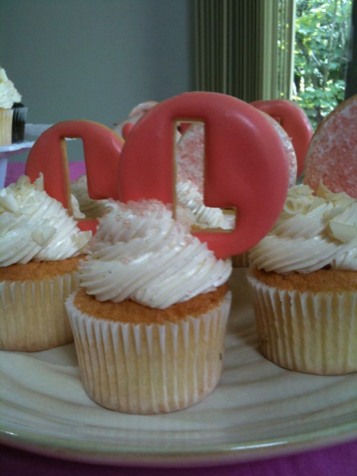 b&e and lovely do more than just birthday cakes! these personalized cupcakes were a hit at lyla rose's birthday party!