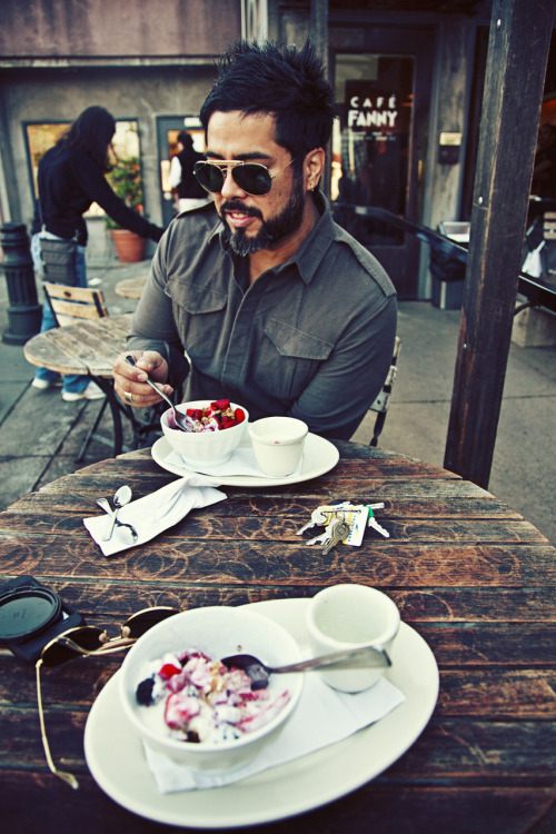 nybe:  breakfast at cafe fanny with benzosol