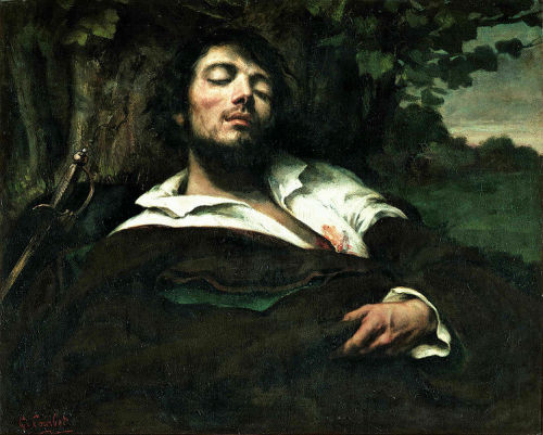Gustav Courbet - The Wounded Man