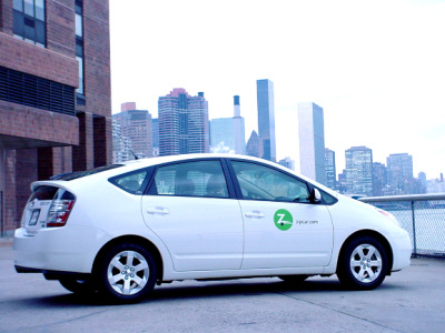 emergentfutures:  New York City Launches Car-Sharing Program And the way they're going to pilot the program is pretty interesting:  About 300 Department of Transportation employees will share a fleet of  25 vehicles for their daily business, then turn those cars over to the  public for use on nights and weekends