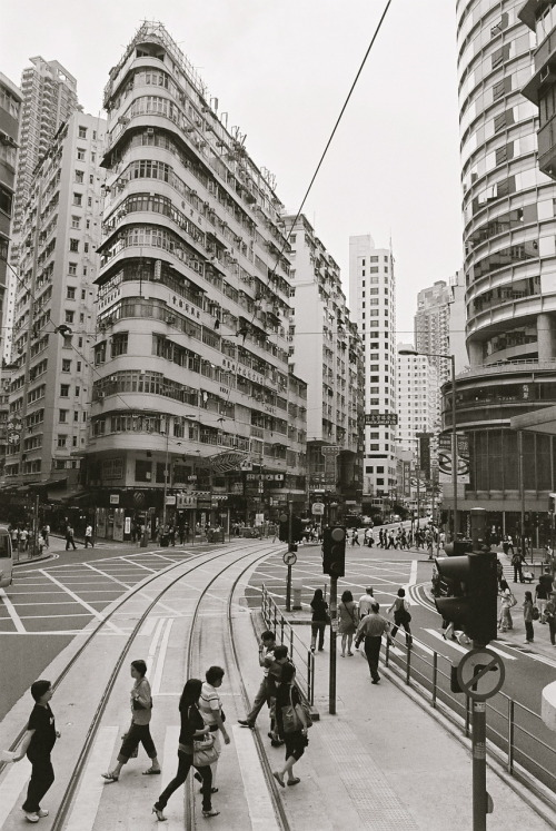 krumology:  1900s-style building. Y U NO KEEP DEM, HONG KONG?! Pentax Spotmatic