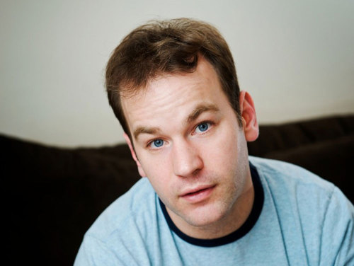 "Comedian Mike Birbiglia, on how he became a contributor to This American Life: ""So then [This American Life producer] Julie Snyder got in touch with me about maybe putting [my  sleepwalking bit] on the show. And I didn't want them to put the live  version of the piece [on the show] because I thought 'If they play the  live version, when I release Sleepwalk with Me as a live CD, no one's going to want it because they already had the podcast of it.' So  I said 'Can we just do it in the studio?' and Julie said 'No, we really  want the live one' and then finally I get a phone call from Ira [Glass]  one day, who I'd never met and he's like 'Hi Mike, it's Ira Glass. I'm  calling to convince you to let us use the live version of your show for  our show.' And I was like 'Sure. Great.' Instantly sold. The power of a  celebrity voice — and [since] then all of my pieces on the show have  been live pieces."""