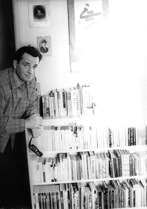 i12bent:  Kerouac, books, light (another shot from the same series)